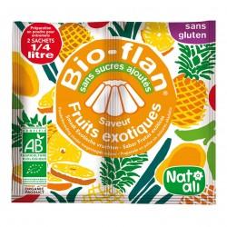 Photo Bioflan fruits exotiques sans sucres ajoutés 8g bio Nat-Ali