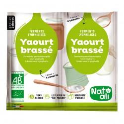 Photo Ferments pour yaourt brassé 2x6g bio Nat-Ali