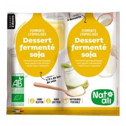 Photo Ferments pour dessert au soja 2x6g bio Nat-Ali