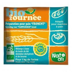 Photo Préparation pour pain Biofournée froment 35g bio Nat-Ali