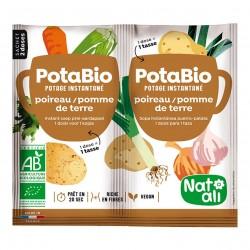Photo Potabio poireau-pomme de terre 2x8