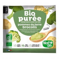 Photo Purée de pomme de terre-brocolis 30g bio Nat-Ali