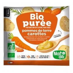 Photo Purée de pomme de terre-carotte 30g bio Nat-Ali