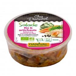 Photo Salade à l'artichaut et riz 200g bio Danival