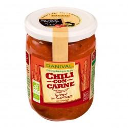 Photo Chili con carne 525g bio Danival
