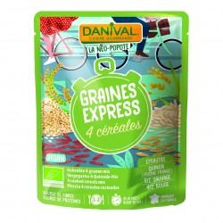 Photo Graines Express 2 céréales-2 légumineuses 250g bio Danival