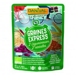 Photo Graines Express 4 céréales 250g bio Danival