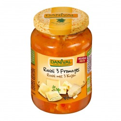 Photo Raviolis aux 3 fromages 670g bio Danival