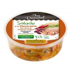 Photo Salade mexicaine au thon sauvage 180g bio Danival