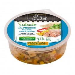 Photo Salade niçoise au thon sauvage 200g bio Danival