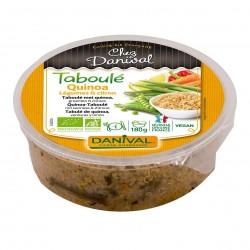 Photo Taboulé de quinoa aux petits légumes et citron 180g bio Danival