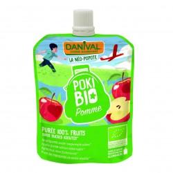 Photo Poki Bio pomme 90g bio Danival