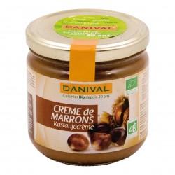 Photo Crème de marrons 380g bio Danival