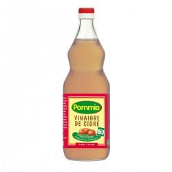 Photo Vinaigre de cidre non filtré 5° 1l bio Pommia