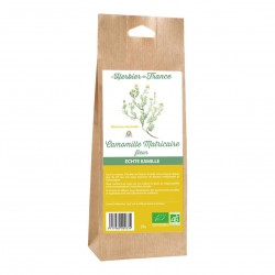 Photo Camomille matricaire fleurs 25g bio L'Herbier de France