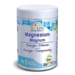 Photo Magnésium magnum 60 gélules Be-Life