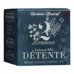 Photo Infusion Bienvenue - Détente - 15 mousselines bio L'Herbier de France
