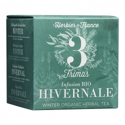 Photo Infusion Frimas - Hivernale - 15 mousselines bio L'Herbier de France
