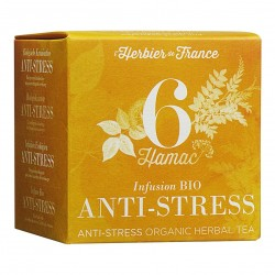 Photo Infusion Hamac - Anti stress - 15 mousselines bio L'Herbier de France