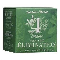 Photo Infusion Ondine - Elimination - 15 mousselines bio L'Herbier de France