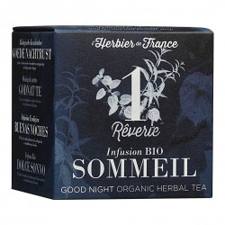 Photo Infusion Rêverie - Sommeil - 15 mousselines bio L'Herbier de France