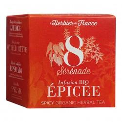 Photo Infusion Sérénade - Epicée - 15 mousselines bio L'Herbier de France