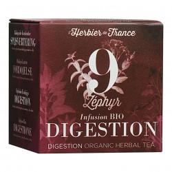 Photo Infusion Zéphyr - Digestion - 15 mousselines bio L'Herbier de France