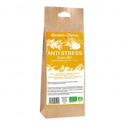 Photo Mélange Infusion Anti-Stress 35g bio L'Herbier de France