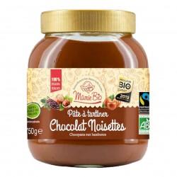 Photo Pâte à tartiner noisette-cacao 750g bio Mamie Bio