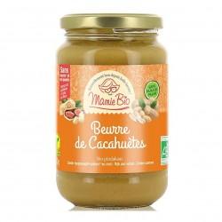 Photo Beurre de cacahuètes 100% 350g bio Mamie Bio