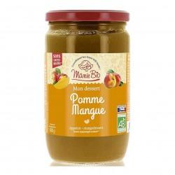 Photo Purée de pommes-mangues 680g bio Mamie Bio