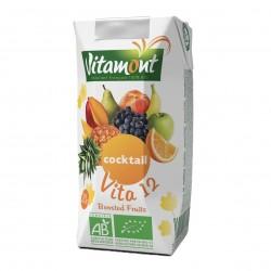 Photo Cocktail 12 fruits Tetra 20cl bio Vitamont