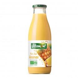 Photo Pur jus d'ananas 75cl bio Vitamont
