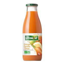 Photo Cocktail orange-carotte-citron 75cl bio Vitamont