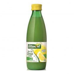 Photo Mini jus de citron 25cl bio Vitamont