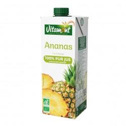 Photo Pur jus d'ananas Tetra 1l bio Vitamont