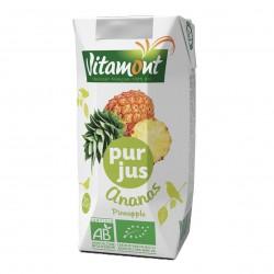 Photo Pur jus d'ananas Tetra 20cl bio Vitamont