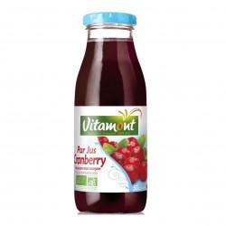 Photo Pur jus de cranberry 50cl bio Vitamont