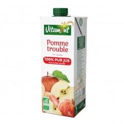 Photo Pur jus de pomme Tetra 1l bio Vitamont