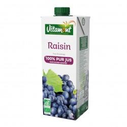 Photo Pur jus de raisin rouge Tetra 20cl bio Vitamont