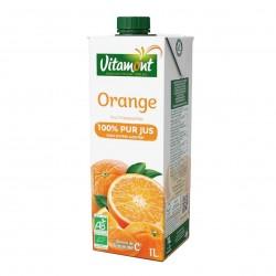 Photo Pur jus d'orange Tetra 1l bio Vitamont