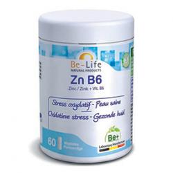 Photo Zn B6 60 gélules Be-Life