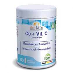 Photo Cu + Vit. C 60 gélules Be-Life