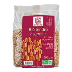 Photo Blé tendre à germer 500g bio Celnat