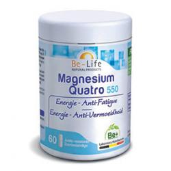 Photo Magnesium quatro 550 60 gélules Be-Life