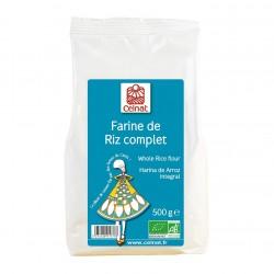 Photo Farine de riz complet 500g bio Celnat