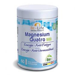 Photo Magnesium quatro 900 60 gélules Be-Life
