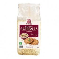 Photo Flocons de 5 céréales 500g bio Celnat