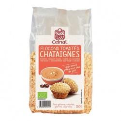 Photo Flocons de châtaigne toastés 350g bio Celnat