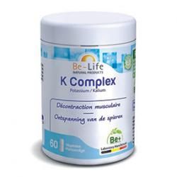 Photo K complex (potassium) 60 gélules Be-Life